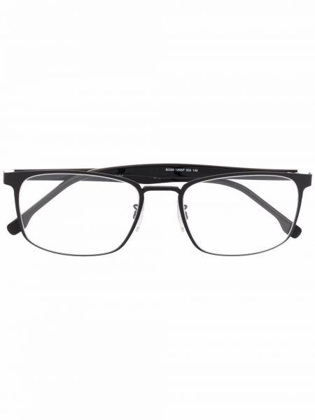 Czarne okulary Boss Hugo Boss