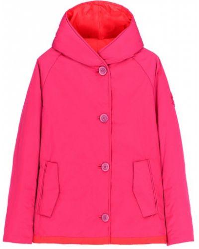Różowy płaszcz zimowy Oof Wear