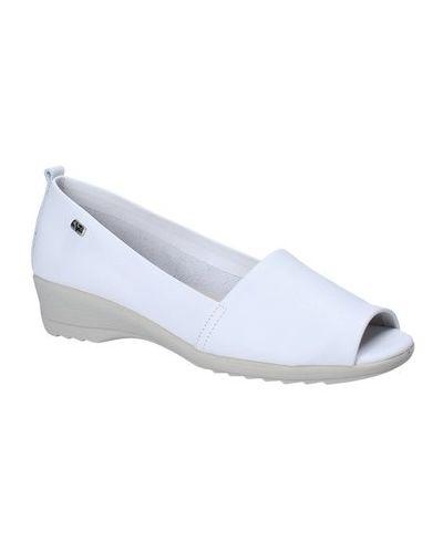 Białe sandały Valleverde