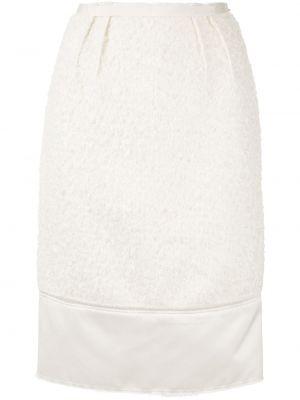 Spódnica plisowana - biała N°21