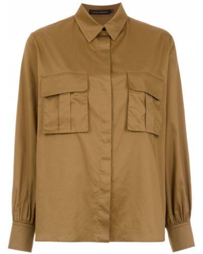 Классическая рубашка с карманами милитари Andrea Marques