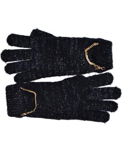 Черные перчатки Patrizia Pepe