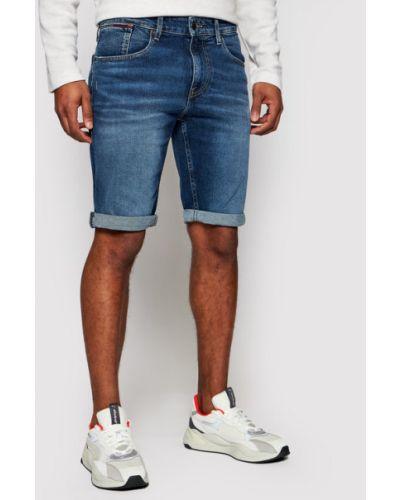 Szorty jeansowe - granatowe Tommy Jeans