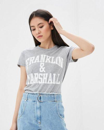 Серая футболка Franklin & Marshall