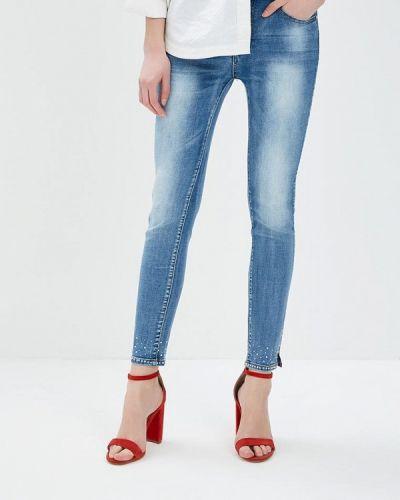 Синие джинсы Regular