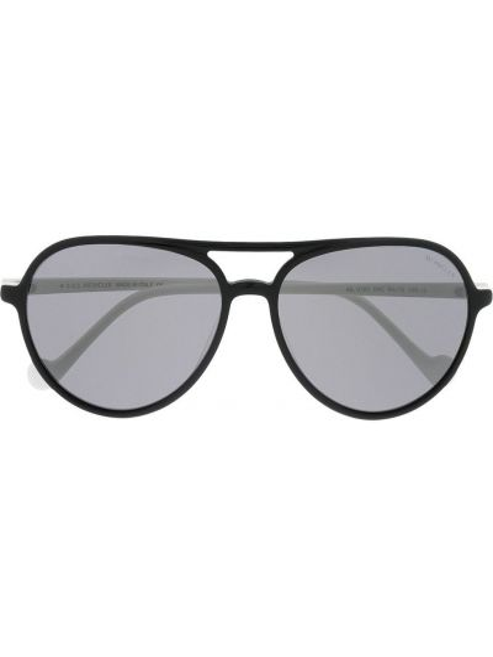 Прямые белые солнцезащитные очки Moncler Eyewear