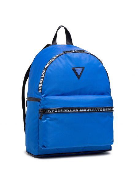 Niebieska torba sportowa Guess