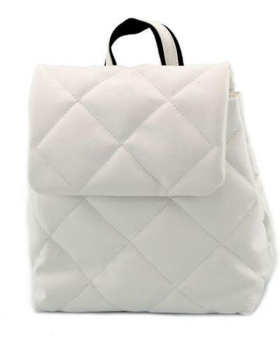 Рюкзак на змейке - белый B.elit