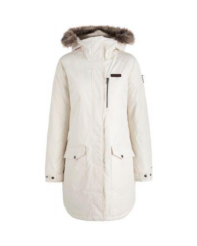 Куртка с капюшоном - бежевая Columbia