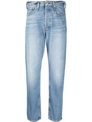Niebieskie jeansy bawełniane Rag & Bone