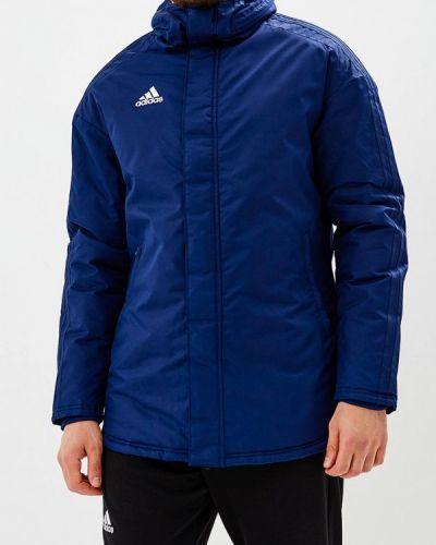 Синяя куртка Adidas