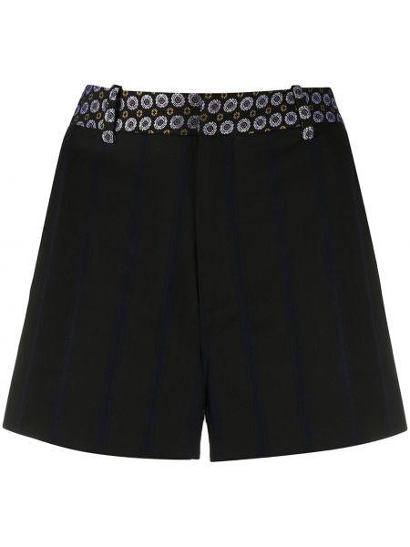 Черные короткие шорты с карманами Zadig&voltaire