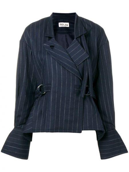 Синий пиджак Teija