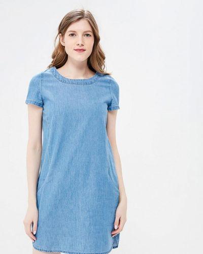 Голубое платье весеннее Sela