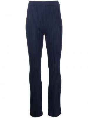 Хлопковые брюки - синие Adam Lippes