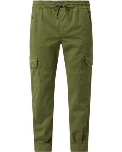 Zielone spodnie bawełniane miejskie Urban Classics