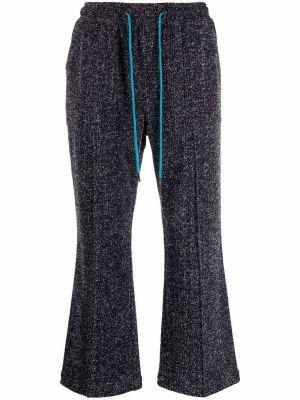 Niebieskie spodnie bawełniane Viktor & Rolf