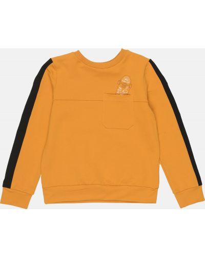 Оранжевый свитшот свободного кроя Robinzone