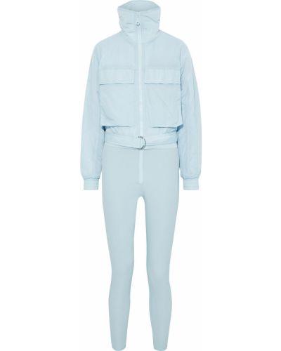Niebieski garnitur z paskiem Cordova