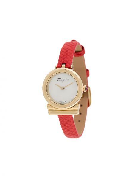 Zegarek szary do twarzy Salvatore Ferragamo Watches