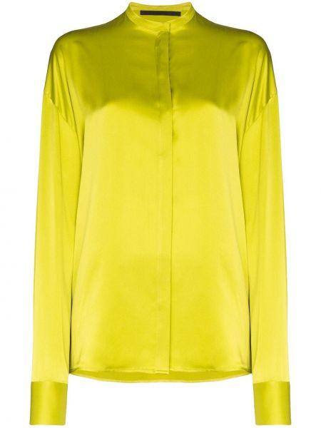 Шелковая рубашка - желтая Haider Ackermann