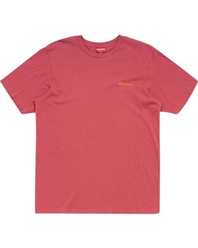 T-shirt bawełniany krótki rękaw z printem Supreme