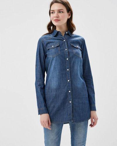 Джинсовая рубашка синяя So Sweet