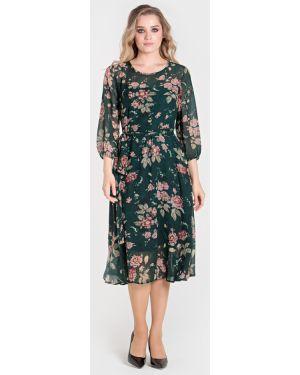 Платье с поясом с цветочным принтом платье-сарафан Filigrana
