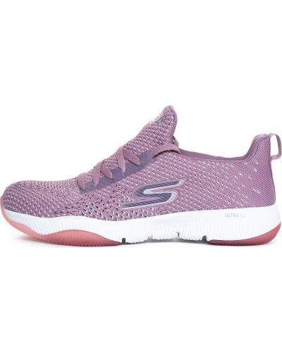 Кроссовки фиолетовый мембранные Skechers
