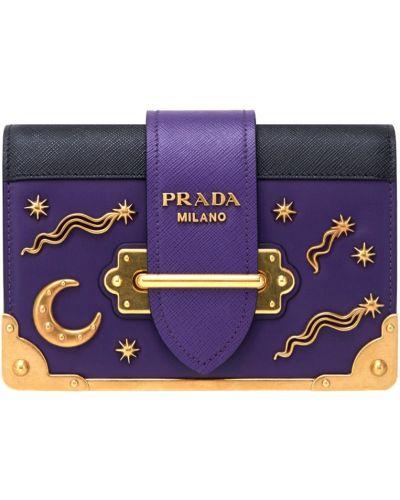 Кожаный сумка джинсовая Prada