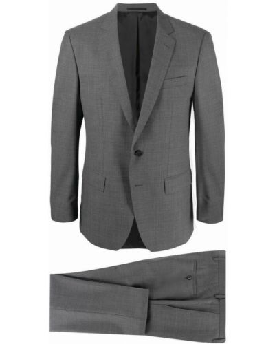 Szary garnitur Hugo Boss