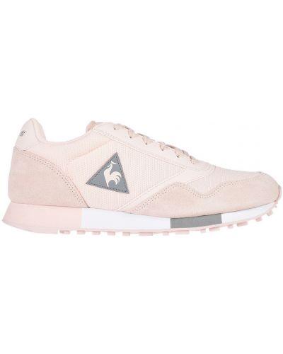 Кроссовки замшевые розовый Le Coq Sportif