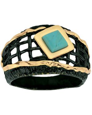 Кольцо из золота из серебра балтийское золото
