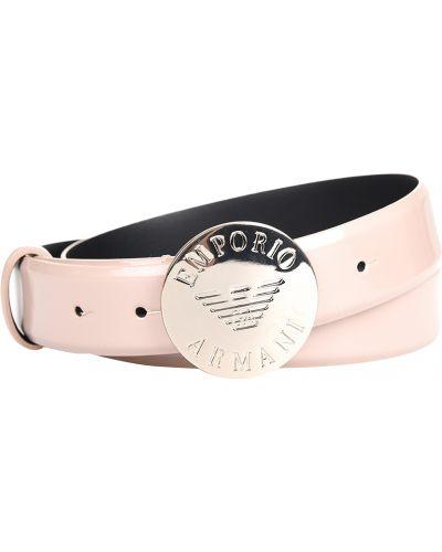 Ремень розовый Emporio Armani
