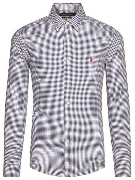 Koszula slim - granatowa Polo Ralph Lauren