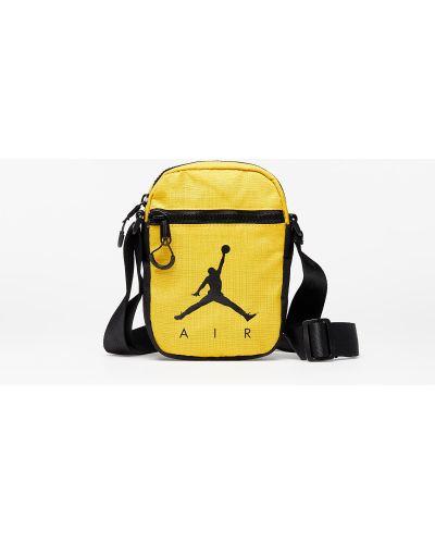 Żółta złota torebka Jordan