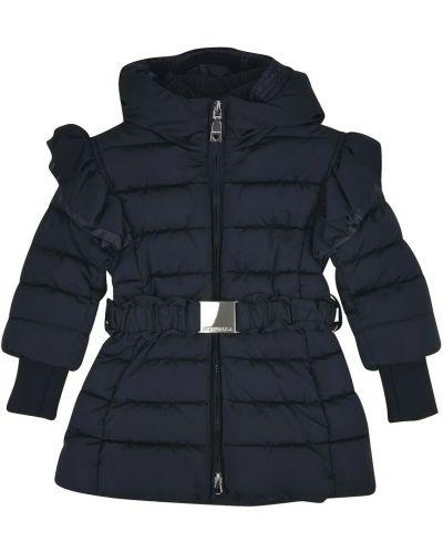 Niebieski płaszcz Monnalisa