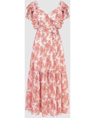 Платье макси - красное Charo Ruiz