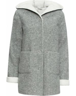 Бежевая плюшевая куртка Bonprix