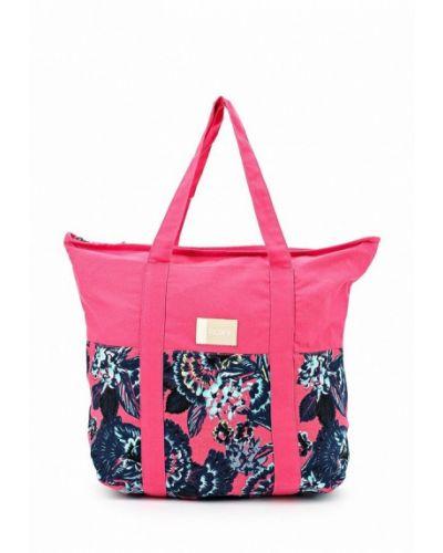 Розовая сумка Roxy