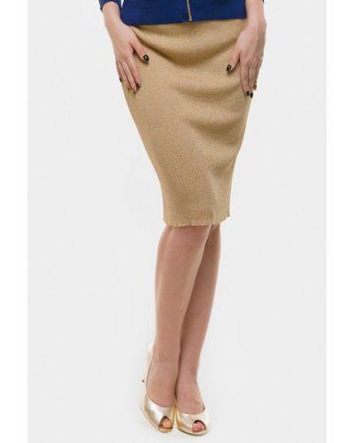 Бежевая юбка узкого кроя Vera Moni
