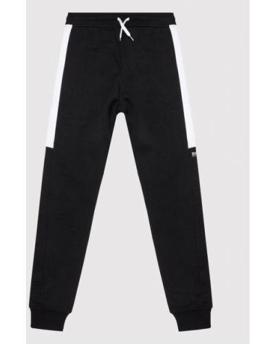 Spodnie dresowe - czarne Boss
