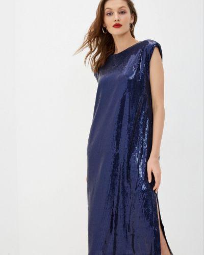 Синее вечернее платье снежная королева
