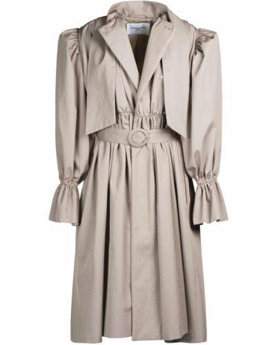 Хлопковое платье - бежевое Balenciaga