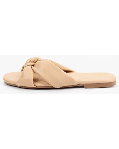 Бежевые сабо летние Ideal Shoes®