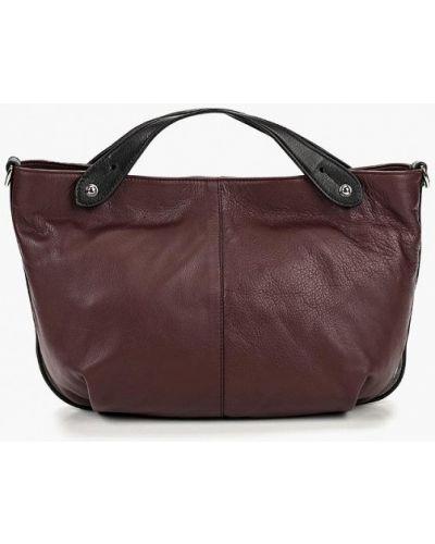 Кожаная сумка - бордовая Gianni Conti