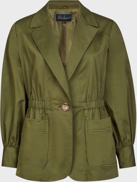 Пиджак на пуговицах - зеленый Luisa Spagnoli