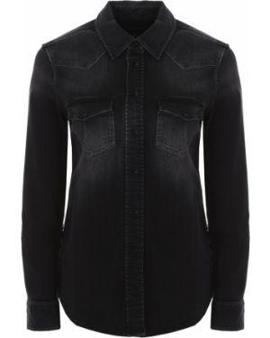 Джинсовая рубашка с карманами с длинным рукавом Jacob Cohen