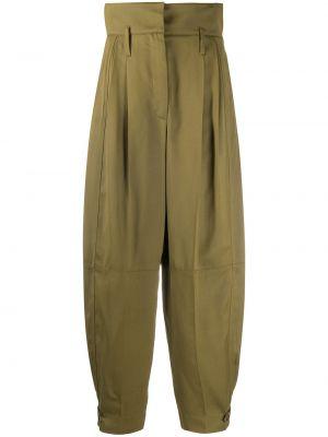 Bawełna spodni spodnie z kieszeniami z wiskozy Givenchy