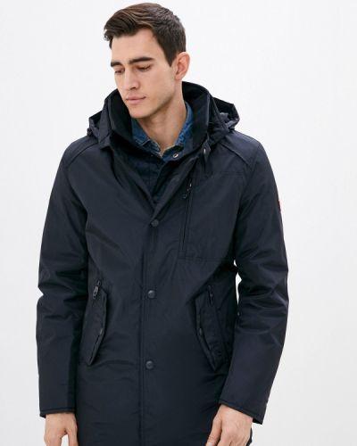 Утепленная куртка - синяя Vizani